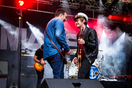 Deutschrock - Fotos: Madsen live beim Sound Of The Forest 2016