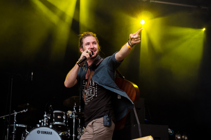 Loops he did it again - Fotos: Jeremy Loops live beim Sound Of The Forest 2016
