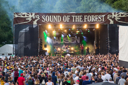 Im Wald wird's laut - Sound Of The Forest 2017 bestätigt Mighty Oaks, Hundreds und Enno Bunger