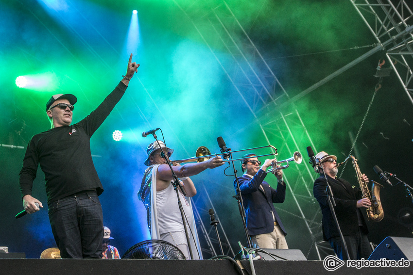 Fat Freddy's Drop (live beim A Summer's Tale 2016)