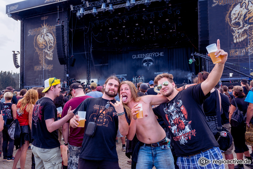 Impressionen vom Freitag beim Summer Breeze Open Air 2016