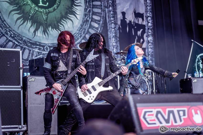 Arch Enemy live beim Summer Breeze Open Air, 2016