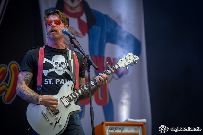 Eagles of Death Metal live auf dem Highfield Festival 2016
