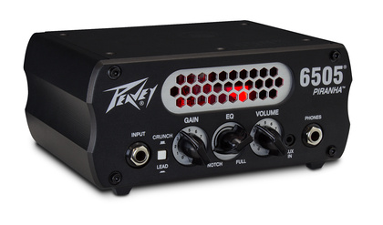 Peavey 6505 Piranha Micro Head Test :: bonedo.de